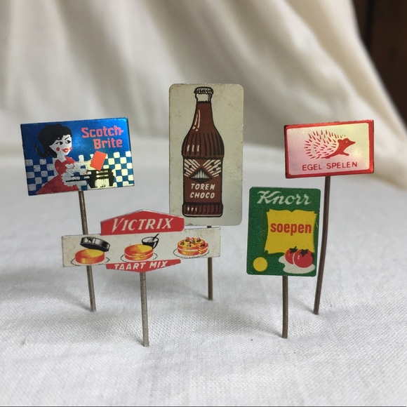 Dutch Market Food Pins